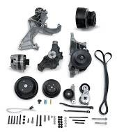 Front Engine Accessory Drive Systems - Power steering