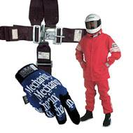 Accessories, Car Care & Misc. - Safety Belts, Helmets & Suits