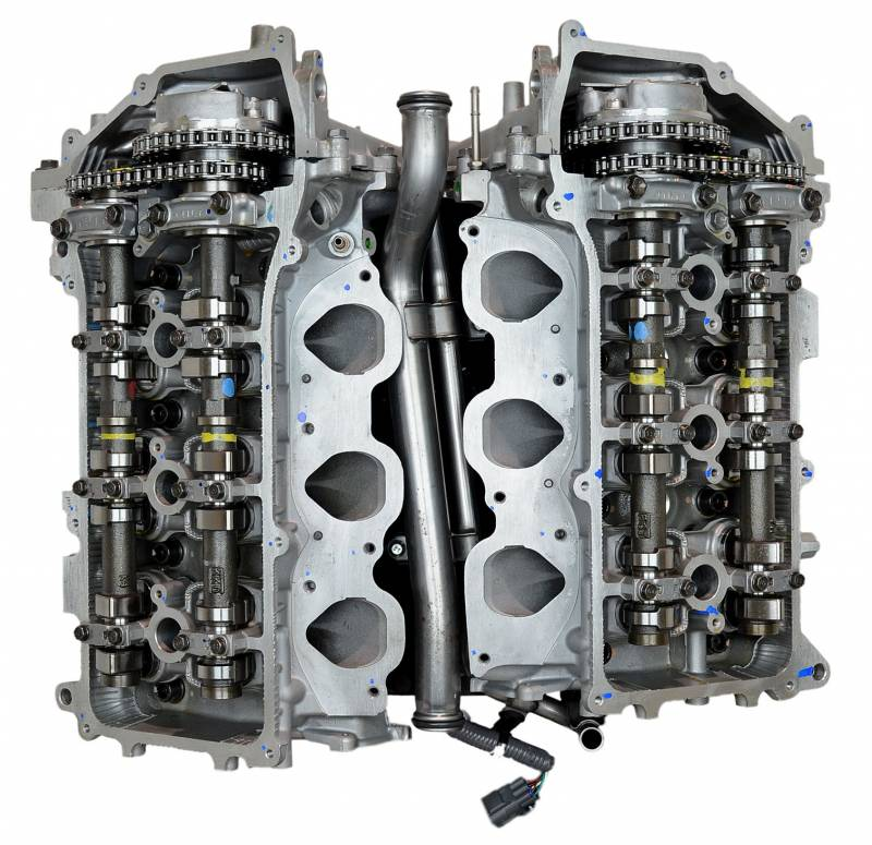 SD Parts - 858A TOYOTA 1GR-FE 02-04 ENG Engine Long Block