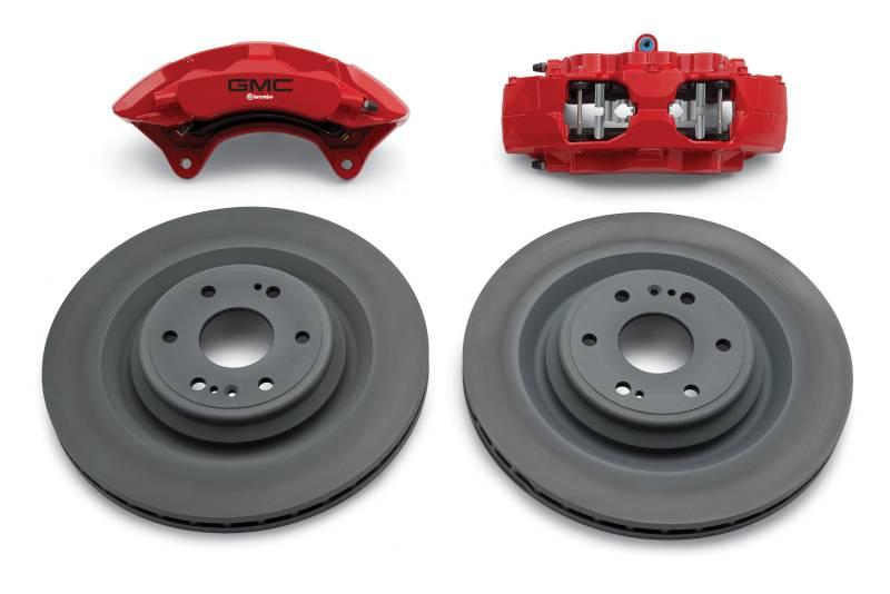 gm accessories 84263235 brembo performance front brake kit for 2014 gmc sierra 1500 2015. Black Bedroom Furniture Sets. Home Design Ideas