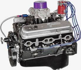 Blueprints stroker small block is no slouch with over 430hp on tap a blueprint engines blueprint engines mbp3550ctc fully dressed marine 355 with cast iron vortec heads malvernweather Images