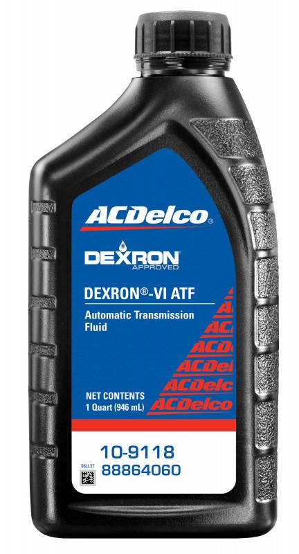 acdelco 10 9118 dexron vi automatic transmission fluid 1 qt. Black Bedroom Furniture Sets. Home Design Ideas