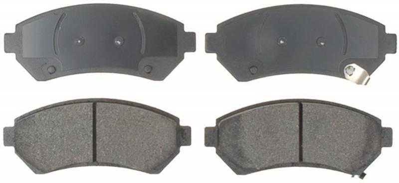 ACDelco 14D714CH Advantage Ceramic Rear Disc Brake Pad Set with Wear Sensor