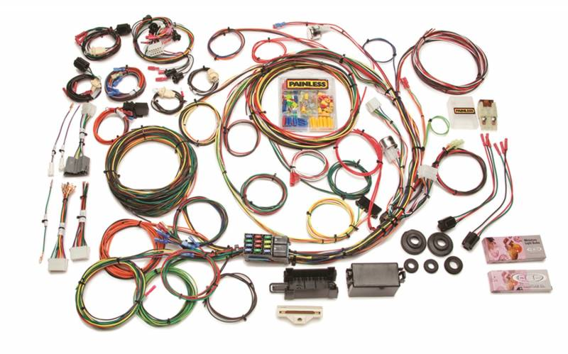 car stereo wiring harness 1977 ford ltd c7 panasonic car stereo wiring harness diagram cq painless wiring 10117 - direct fit f-series ford truck ...