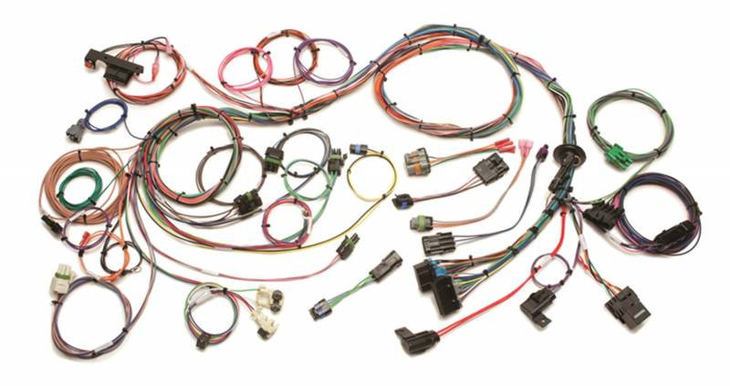 57 tbi wiring harness 57 jaguar wiring harness painless wiring 60201 - 1986-1993 gm 4.3l v6, 5.0, 5.7 & 7 ...