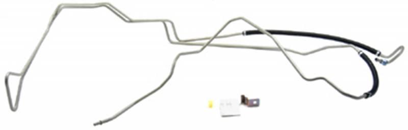 Power Steering Return Line Hose Assembly-Return Line Assembly fits Fleetwood
