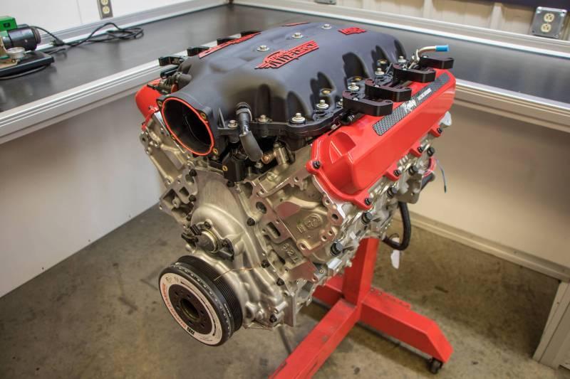 Raceshop 427ci Dry Sump LT1 Long Block - Testing & Development Crate