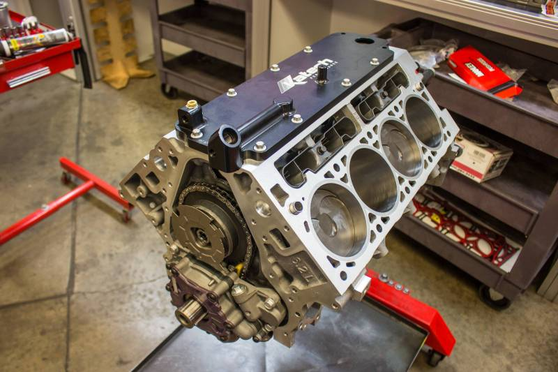 Raceshop 427ci Dry Sump LT1 Long Block - Testing