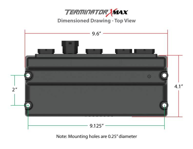 Holley EFI 550-917 -Terminator X Max Early Truck 24x/1x LS