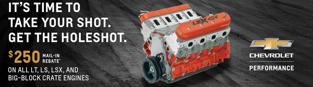 Chevrolet Performance Holeshot Rebate