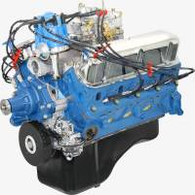 Engine transmission engine crate engines blueprint engines bp3024ctc 302 ci dressed crate engine with cast iron cylinder heads malvernweather Choice Image