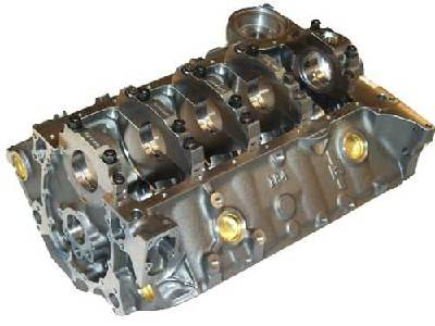 "Chevrolet Performance - Chevrolet Performance 12480157 - SBC Bowtie Block with 350 Mains, 9.025"" Deck"
