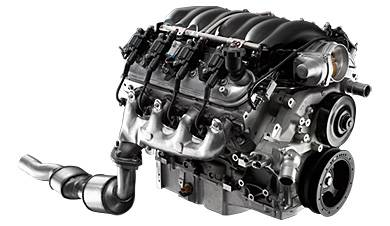 Chevrolet Performance - Chevrolet Performance 19370415 - 6.2L LS3 E-ROD Crate Engine (For 17 Tooth Reluctor Wheel Transmission)