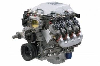 Chevrolet Performance - Chevrolet Performance 19416892 - Supercharged 6.2L LSA E-Rod Crate Engine - 556hp (For 40 Tooth Reluctor Wheel Transmission)