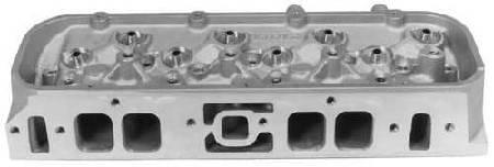 Chevrolet Performance - Chevrolet Performance 19331422 - Bowtie Oval Port Aluminum 290cc BBC Cylinder Head