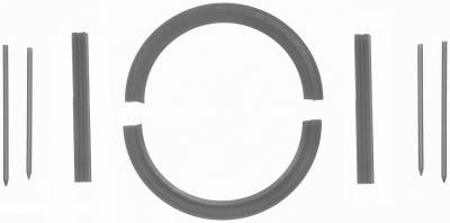 Fel-Pro - Fel-Pro 2903 - Rear Main Seal Set