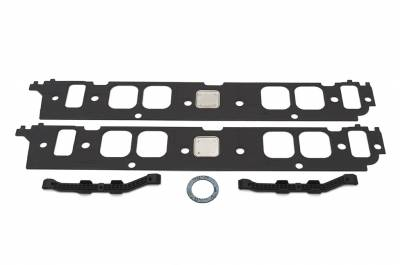 Chevrolet Performance - Chevrolet Performance 12366985 - Intake Manifold Gasket Set for BBC Aluminum Oval-Port Heads