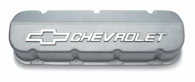 Chevrolet Performance - Chevrolet Performance 12371244 - Big Block Chevy Aluminum Valve Covers Competition Style - Pair