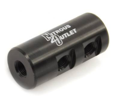 """Nitrous Outlet - Nitrous Outlet 00-01755 -  1 in 4 Out Distribution Block With 1/8"""" NPT Ports"""