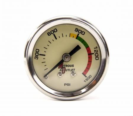 Nitrous Outlet - Nitrous Outlet 00-63001 -  Luminescent Nitrous Pressure Gauge