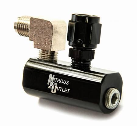 Nitrous Outlet - Nitrous Outlet 00-01803-LT1 -  LT1 EFI Fuel Rail Distribution Block