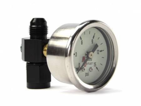 Nitrous Outlet - Nitrous Outlet 00-63003-6 -  Fuel Pressure Gauge & 6AN Manifold (0-15psi)