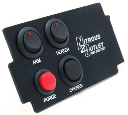 Nitrous Outlet - Nitrous Outlet 00-11011 -  93-97 Camaro Automatic Ashtray 4 Switch Panel