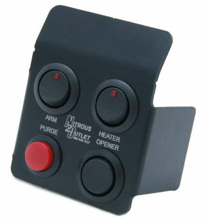 Nitrous Outlet - Nitrous Outlet 00-11018 -  05-11 Mopar 300/Magnum/Charger Switch Panel