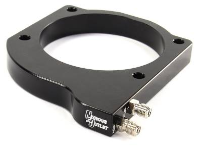 Nitrous Outlet - Nitrous Outlet 00-42027 -  102mm LSX Nitrous Plate Conversion (For 97-04 Corvette Part # 00-42000 Is Required For Installation) (50-100-150-200 HP)