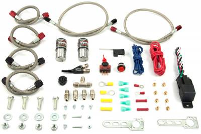 Nitrous Outlet - Nitrous Outlet 22-85000 - X-Series Dual Stage Conversion Wet Nozzle Kit