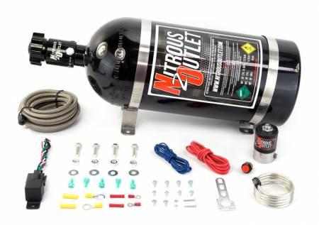 Nitrous Outlet - Nitrous Outlet 00-62006 -  Stand Alone Purge System (10lb Bottle)