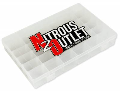 Nitrous Outlet - Nitrous Outlet 00-00401 -  Master Tuning Jet Pack (Includes 28 of the Most Popular Sizes, 8 of Each, 224 Jet Total)
