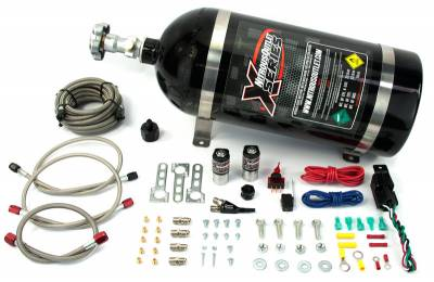 Nitrous Outlet - Nitrous Outlet 22-80050 - X-Series 2010-2015 V6 Camaro EFI Single Nozzle System (55psi)(35-50-75-100-150-200 HP)