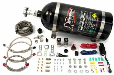 Nitrous Outlet - Nitrous Outlet 22-80001 - X-Series Universal EFI Single Nozzle System (44-55psi)(35-50-75-100-150-200HP)