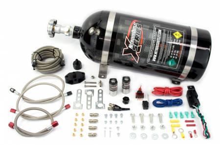 Nitrous Outlet - Nitrous Outlet 22-82001 - X-Series 99-04 Mustang GT, Cobra, Mach 1 EFI Single Nozzle System (55psi)(35-50-75-100-150-200 HP)