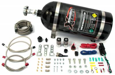 Nitrous Outlet - Nitrous Outlet 22-82010 - X-Series 99-04 5.4 Lightning EFI Single Nozzle System (55psi)(35-50-75-100-150-200 HP)