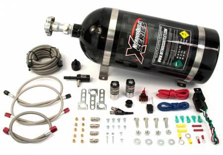 Nitrous Outlet - Nitrous Outlet 22-83000 - X-Series Mopar 4.7/5.7/6.1 EFI Single Nozzle System (45-55psi)(35-50-75-100-150-200 HP)