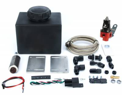 Nitrous Outlet - Nitrous Outlet 00-12051-DIY -  DIY Plastic Universal Battery Tray Dedicated Fuel System (Requires Battery Relocate) This system has to be assembled by Customer.