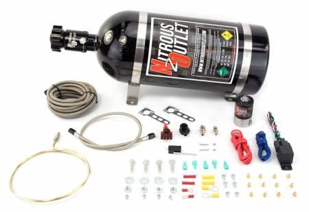 Nitrous Outlet - Nitrous Outlet 00-10203-15 -  GM EFI Large Distribution Ring System (35-200HP) (15lb Bottle)