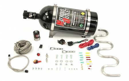 Nitrous Outlet - Nitrous Outlet 00-10300-15 -  Intercooler System (15lb Bottle)