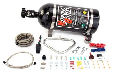Nitrous Outlet - Nitrous Outlet 00-10206-15 -  04-06 GTO HALO Dry System (35-200HP) (15lb Bottle)