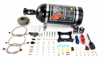 Nitrous Outlet - Nitrous Outlet 00-10140-00 -  96-04 Mustang GT Plate System (50-200HP) (No Bottle)