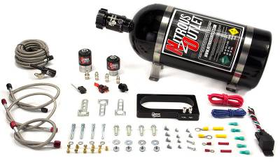 Nitrous Outlet - Nitrous Outlet 00-10152-00 -  2007-2014 GT 500 Mustang Plate System (50-200HP) (No Bottle)