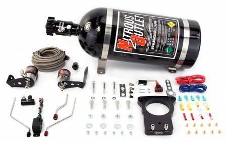 Nitrous Outlet - Nitrous Outlet 00-10118-78-00 -  78mm 98-02 F-body Hardline Plate System (50-200HP) (No Bottle)