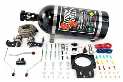 Nitrous Outlet - Nitrous Outlet 00-10118-92-00 -  92 mm Fast Intake 98-02 F-body Hardline Plate System (50-200HP) (No Bottle)