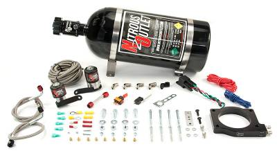 Nitrous Outlet - Nitrous Outlet 00-10175-00 -  2009-2014 CTS-V 90mm Plate system (50-200HP) (No Bottle) (55 PSI)