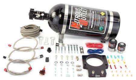 Nitrous Outlet - Nitrous Outlet 00-10113-15 -  92mm LSX Plate System (50-200HP) (15lb Bottle)( For 97-04 Corvette part # 00-42000 is needed )