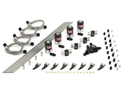 Nitrous Outlet - Nitrous Outlet 00-10420-L-SBT-DS -  Dual Stage Dry EFI 8 Cylinder 4 Solenoid Racers Direct-Port Conversion kit with SBT Wet Nozzle's (.112 Nitrous Solenoids)(Customer can pick one HP setting at no additional cost.)