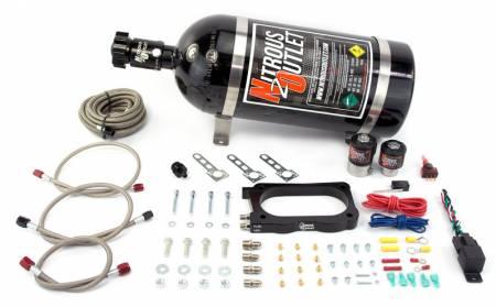 Nitrous Outlet - Nitrous Outlet 00-10135-15 -  03-06 Viper Plate System (50-200HP) (15lb Bottle)