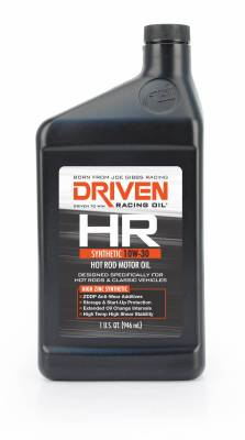 Driven Racing Oil - Driven Racing Oil 01606 - HR-3 10W-30 Synthetic Hot Rod Oil - 1 Quart Bottle